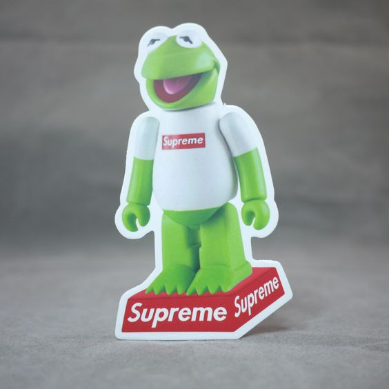 Supreme Kermit Sticker Www Imgkid Com The Image Kid