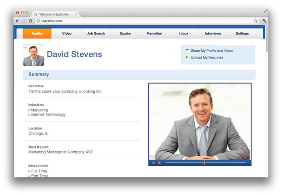 A video resume can help you display your showmanship and - video resume website