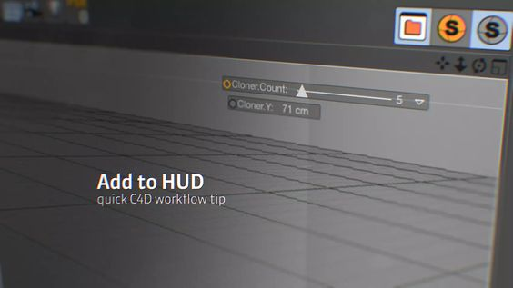 Cinema4D Quick Tip: Add to Hud on Vimeo
