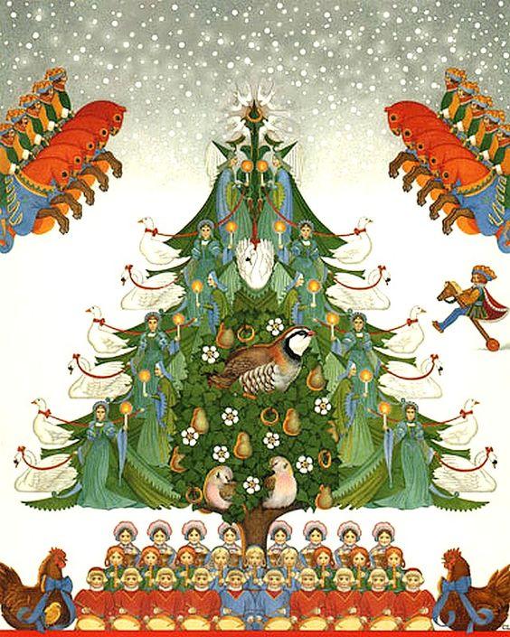 Carol Lawson (b.1946) —   Christmas Cover   (640x800):