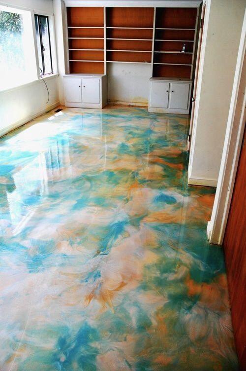 Epoxy Floor Leonieschambe Beton Doseme Dosemeler Modern Mimari