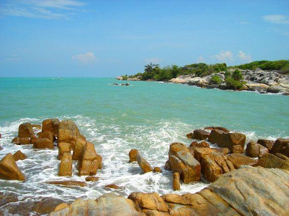 NAMAK Beach, South Bangka