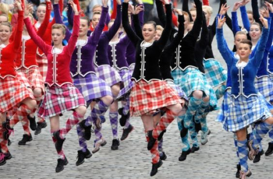 Scottish Highland dancers performed for the Royal visit in Edinburgh, Scotland @ Holyrood Palace. http://www.scotsman.com/edinburgh-evening-news/in-pictures-prince-william-joins-the-order-of-the-thistle-1-2395340?ot=johnstonpress.JohnstonPressPageLayout.ot