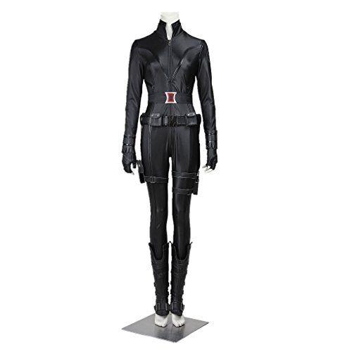 Cosplayfun the Avengers Black Widow Women Cosplay Costume...…