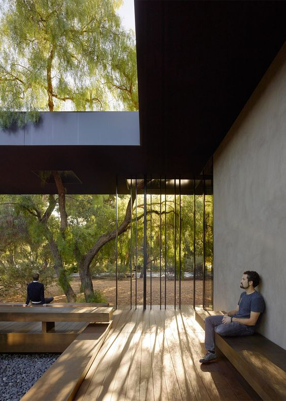 Windhover Contemplative Retreat by Aidlin Darling Design at Stanford University in California, USA