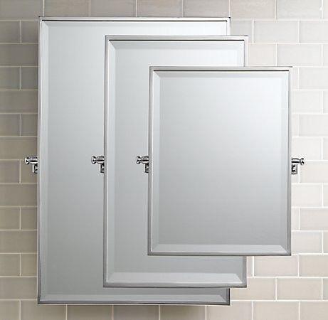 Bistro Rectangular Pivot Mirror traditional bathroom