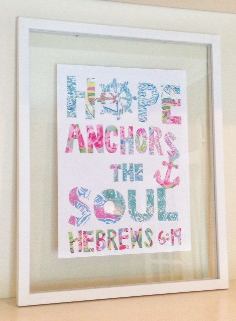 New Lilly Pulitzer print on Etsy! Love the quote. Perfect for home, dorm, or apartment!  And only $25 framed!