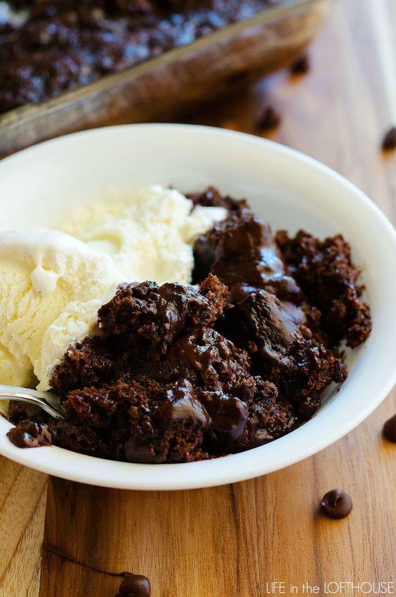 Easy warm chocolate pudding cake recipe