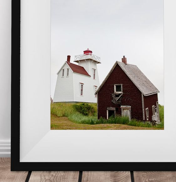 North Rustico / Lighthouse / Shanty / Prince Edward Island /
