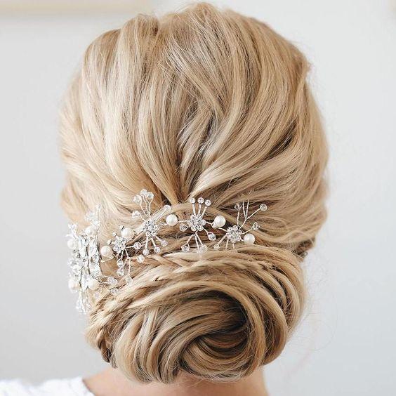 Bridal+Twisted+Chignon