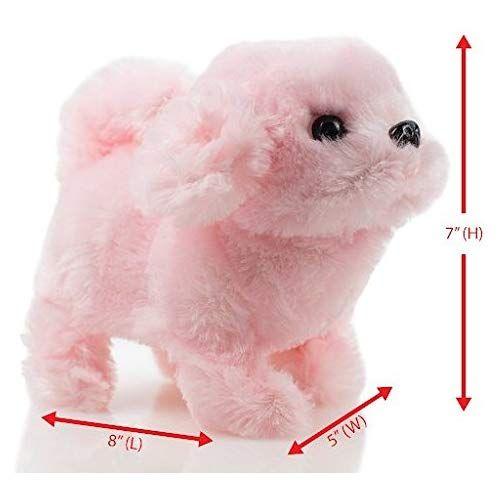 Toysery Puppy Plush Dog Toy For Kids Puppy Toy Walks Barks