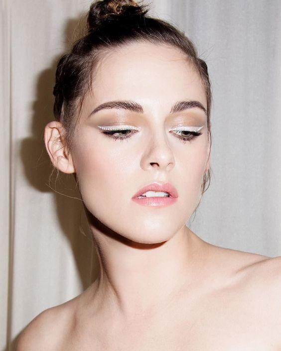 Beauty: Kristen Stewarts White Eyeliner, Stella Maxwells B...