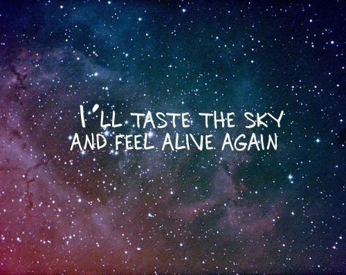 Taste the sky