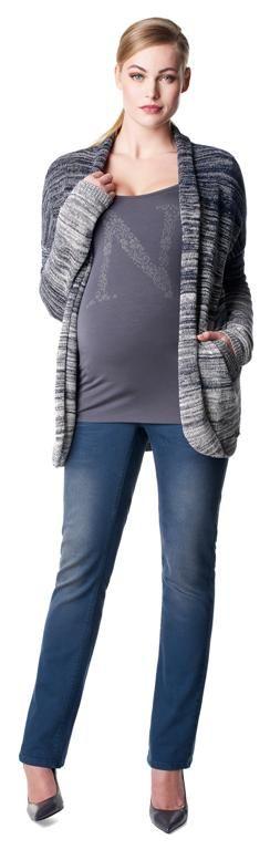 Cárdigan premamá en punto de algodón Mae [50584] - 79,99€ : Tienda premamá online. Moda prenatal para embarazadas y ropa interior para embarazo y lactancia., Demamis.com