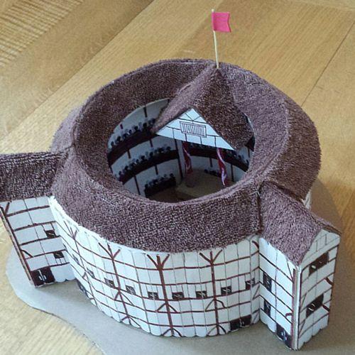 Amazing Globe Theatre Model