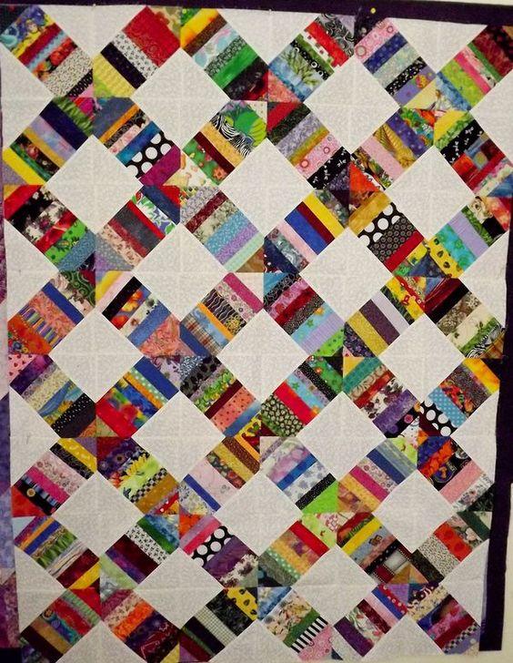 scrappy quilt idea