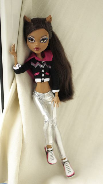 Monster high Clawdeen wolf by i1473, via Flickr