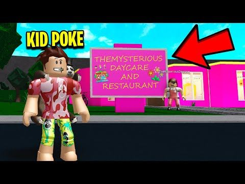 I Became Kid Poke And I Exposed This Daycares Evil Secret - poke roblox bloxburg poke hater