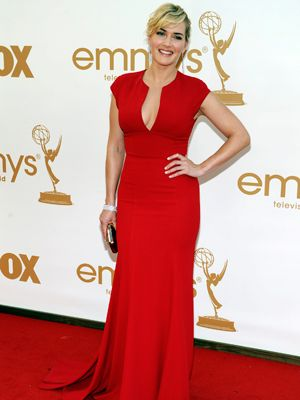 Kate Winslet arrives at the 63rd Primetime Emmy Awards on Sunday, Sept. 18, 2011 in Los Angeles