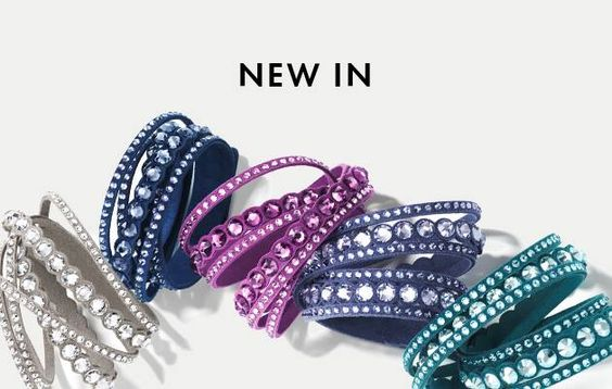 With these hot new wrap bracelets from SWAROVSKI you will be ready for anything this season!