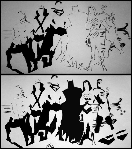 Marvels Justice League Sketch