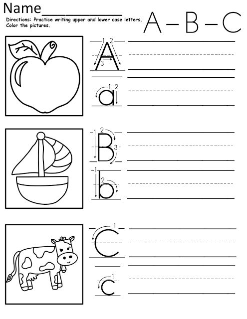Alphabet Review Coloring Pages : Review alphabet worksheet for kindergarten the