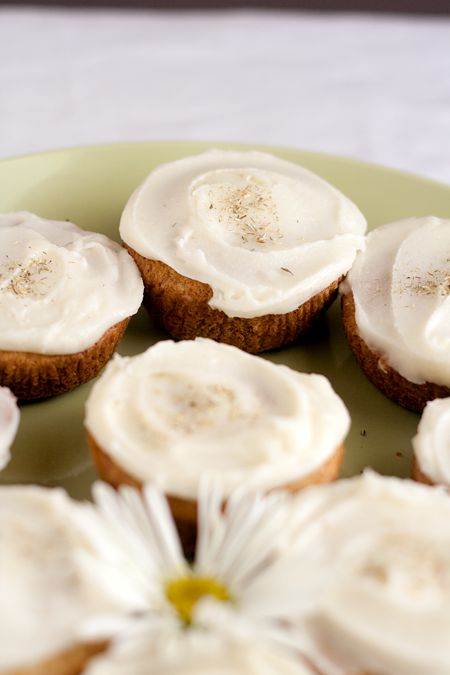 Chamomile Mini Cakes with Honey Frosting for the Joy the Baker Cookbook Spotlight & Cook Off