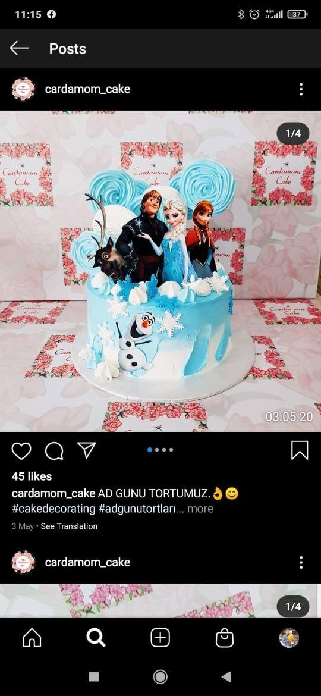 Pin By Aysun Blabla On Tort Sekilleri Cardamom Cake Cake Decorating Cardamom
