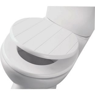 buy shaker style toilet seat white at your. Black Bedroom Furniture Sets. Home Design Ideas
