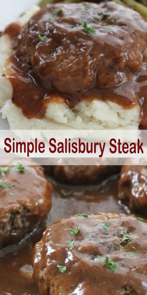 SIMPLE SALISBURY STEAK | Royale Recipes!