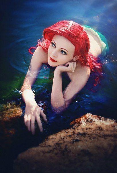 Character: Ariel / From: Walt Disney Animation Studios 'The Little Mermaid' / Cosplayer: Praskovya Pelmeshkina (aka Lavi-A-V)