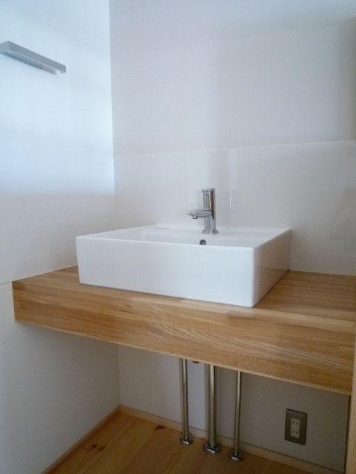 浴室引き戸のメリット デメリットと今までになかった良いところ 画像あり 洗面台 造作 洗面台