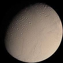 On this day: 28 August 1789, the German-born British astronomer Sir William Herschel discovered Saturn's moon Enceladus during the first use of his new 1.2 m (47 inch) telescope, then the largest in the world. William Herschel's son John Herschel suggested the name after the giant Enceladus of Greek mythology.