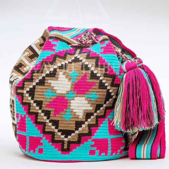 Cabo Wayuu Mochila bags are intricate in their designs, can take approximately…: