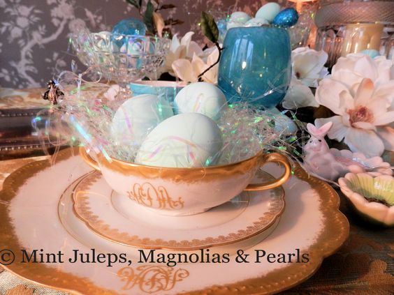 Family Heirloom China @ Mint Juleps, Magnolias & Pearls Blog: