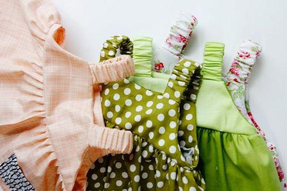 Ver Kate Sew vestido de bebé