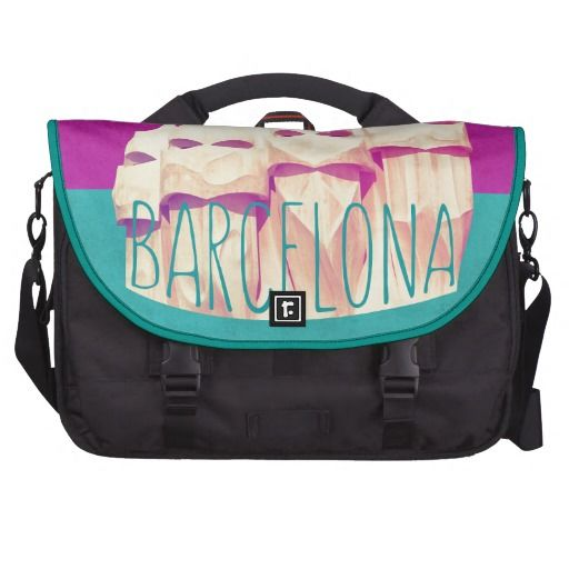 #Barcelona #Gaudi Paradise #Commuter #Bag. The leader of #Modernism #Architecture on your bag, available on #zazzle.