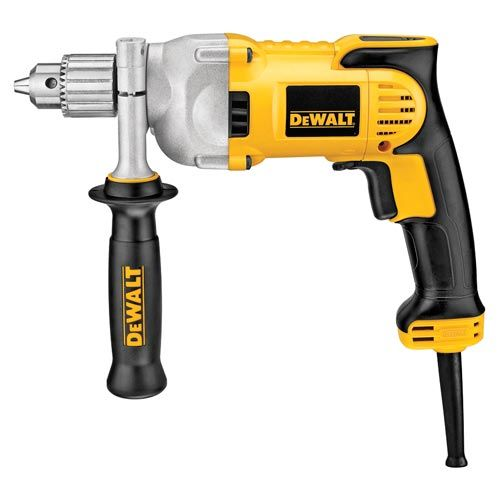Dewalt's VSR Pistol Grip Drill with E-Clutch Anti-Lock Control includes 50% more power with increased overload protection for added durability; learn more by clicking on the image above.