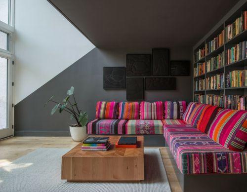 Coole Wandgestaltung mit Farben - Wände wie ein echtes Kunstwerk