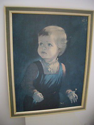 #Vintage #original framed print #1960s child hood anna zinkeisen tretchikoff era,  View more on the LINK: 	http://www.zeppy.io/product/gb/2/252109088508/
