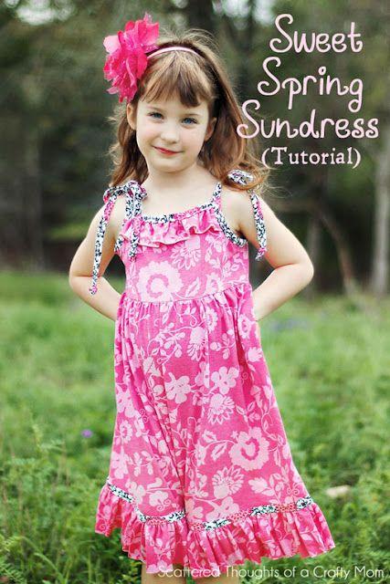 Sweet Spring Sundress Tutorial -