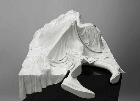 Poetic Veiled Sculptures Shrouded in Mystery - My Modern Met