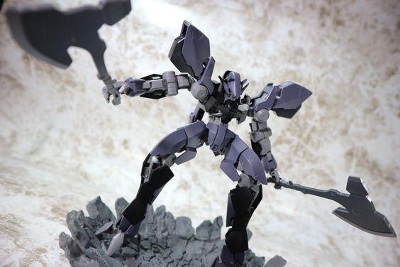 シマーモ's FULL REVIEW: HG IBO 1/144 GRAZE EIN http://www.gunjap.net/site/?p=298657