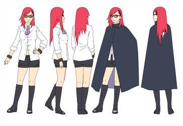 Karin Uchiha Uzumaki 32 Years Color By Sunakisabakuno Karin Uzumaki Karin Naruto Nanatsu No Taizai Manga