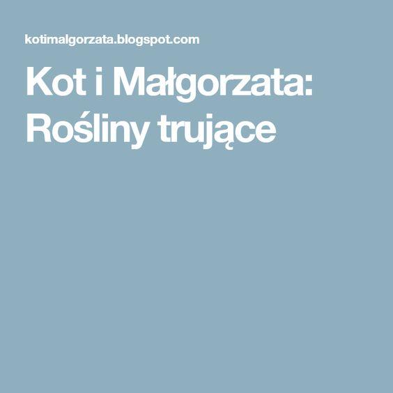 Kot I Malgorzata Rosliny Trujace Ios Messenger