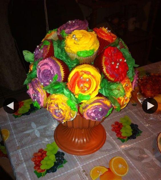 Ramo cup cakes