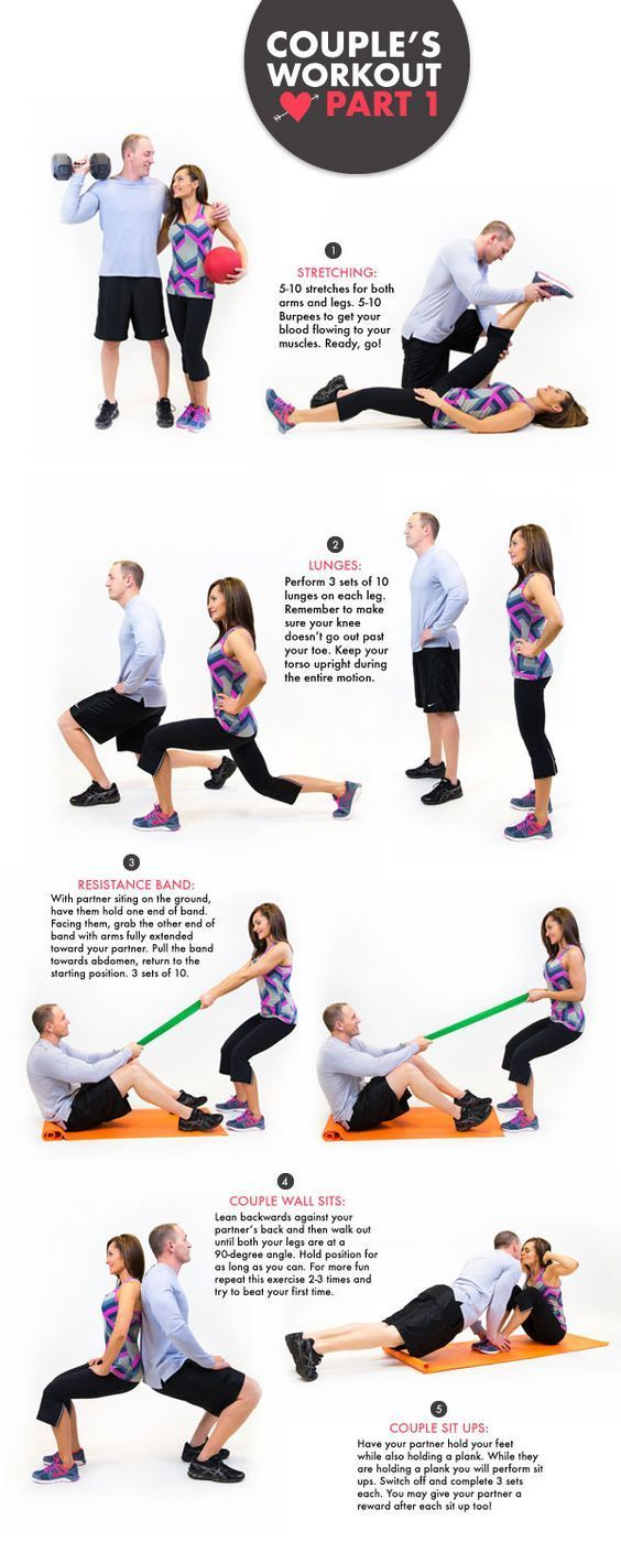 A Month Of Getting Healthy Together Fitness Couples Workout Routine Partner Workout Fit Couples