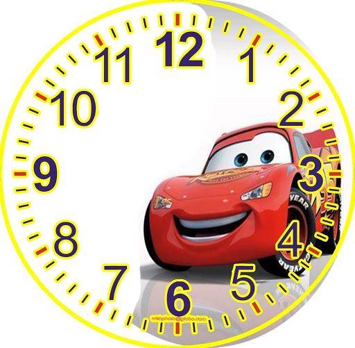 Caratulas para reloj de disney buscar con google clock - Reloj adhesivo de pared ...