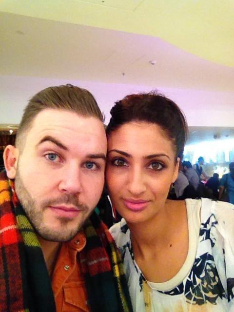 Me & Dassy - London Jan 2013