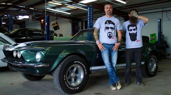Aaron and I are rocking our Face Tees! That sounded weird. But you get it. http://shop.gasmonkeygarage.com pic.twitter.com/TXQkQFHDjk
